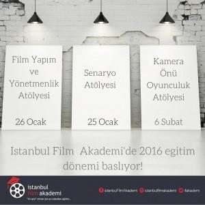 İstanbul Film Akademisi Yeni Dönem