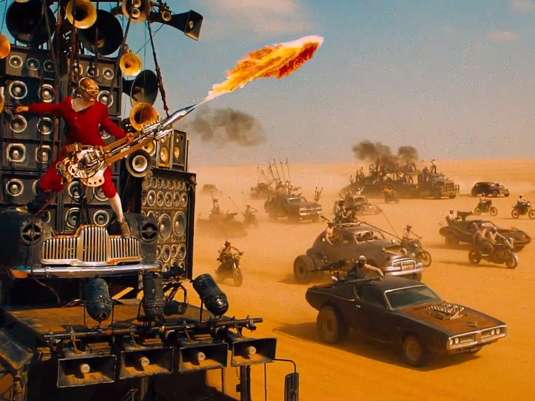 For the road warriors this week - mad max and more