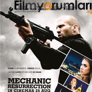Suikast - Mechanic: Resurrection film yorumları