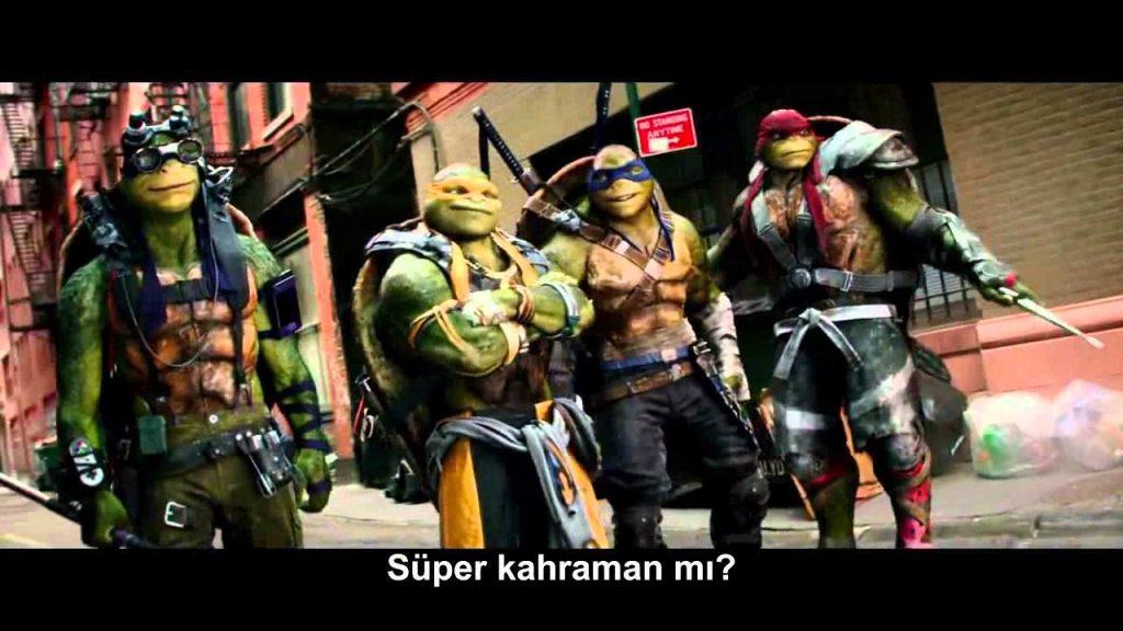 Ninja Kaplumbağalar: Gölgelerin İçinden konusu
