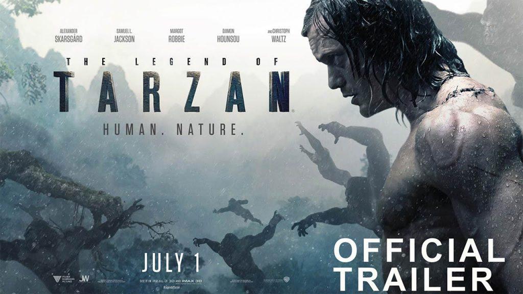 Tarzan Efsanesi konusu