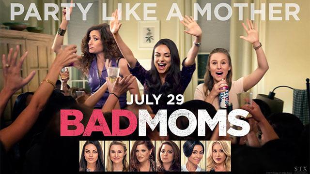 BAD MOMS afişi